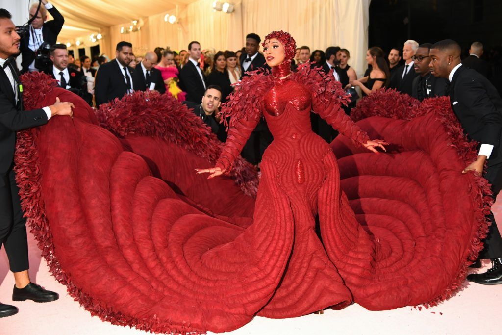 NEW YORK, NEW YORK - MAY 06: Cardi B attends The 2019 Met Gala Celebrating Camp: Notes on Fashion at Metropolitan Museum of Art on May 06, 2019 in New York City. (Photo by Dimitrios Kambouris/Getty Images for The Met Museum/Vogue)