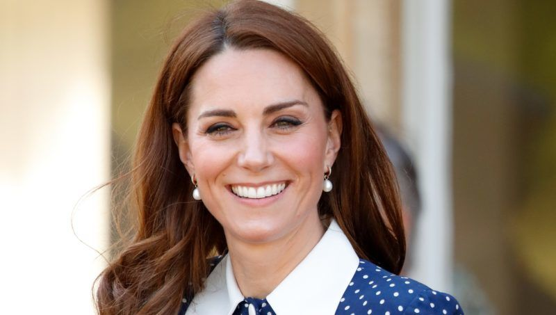 BLETCHLEY, UNITED KINGDOM - MAY 14: (EMBARGOED FOR PUBLICATION IN UK NEWSPAPERS UNTIL 24 HOURS AFTER CREATE DATE AND TIME) Catherine, Duchess of Cambridge visits the 'D-Day: Interception, Intelligence, Invasion' exhibition at Bletchley Park on May 14, 2019 in Bletchley, England. The D-Day exhibition marks the 75th anniversary of the D-Day landings. (Photo by Max Mumby/Indigo/Getty Images)