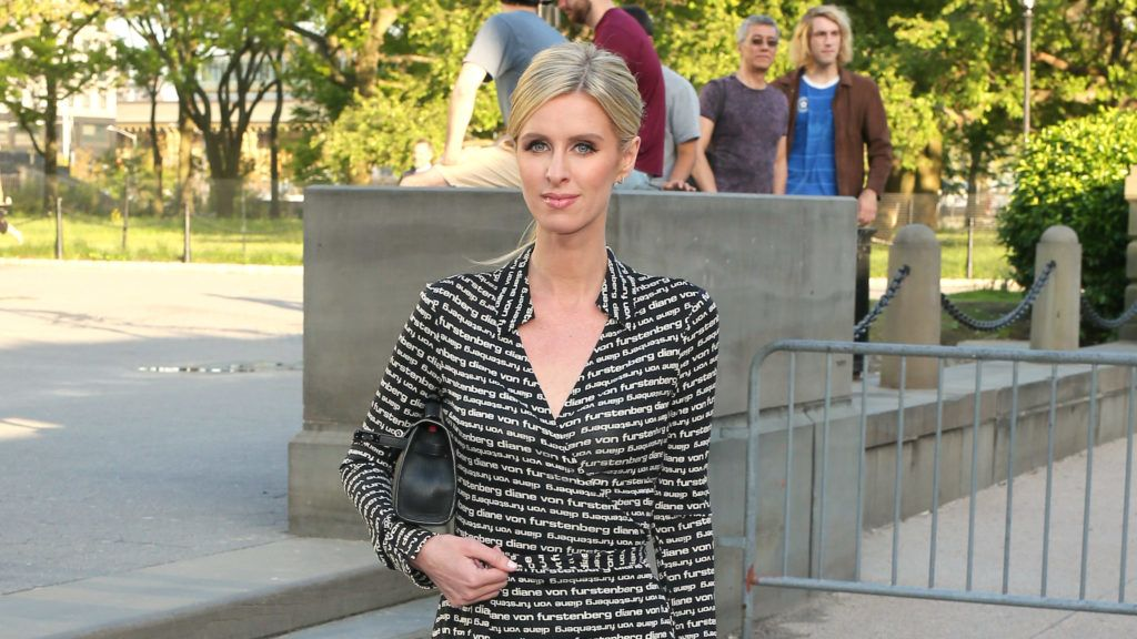 NEW YORK, NEW YORK - MAY 15: Nicky Hilton Rothschild arrives at the Statue Of Liberty Museum Opening Celebration at Battery Park on May 15, 2019 in New York City. (Photo by Jemal Countess/Getty Images for Statue Of Liberty-Ellis Island Foundation)