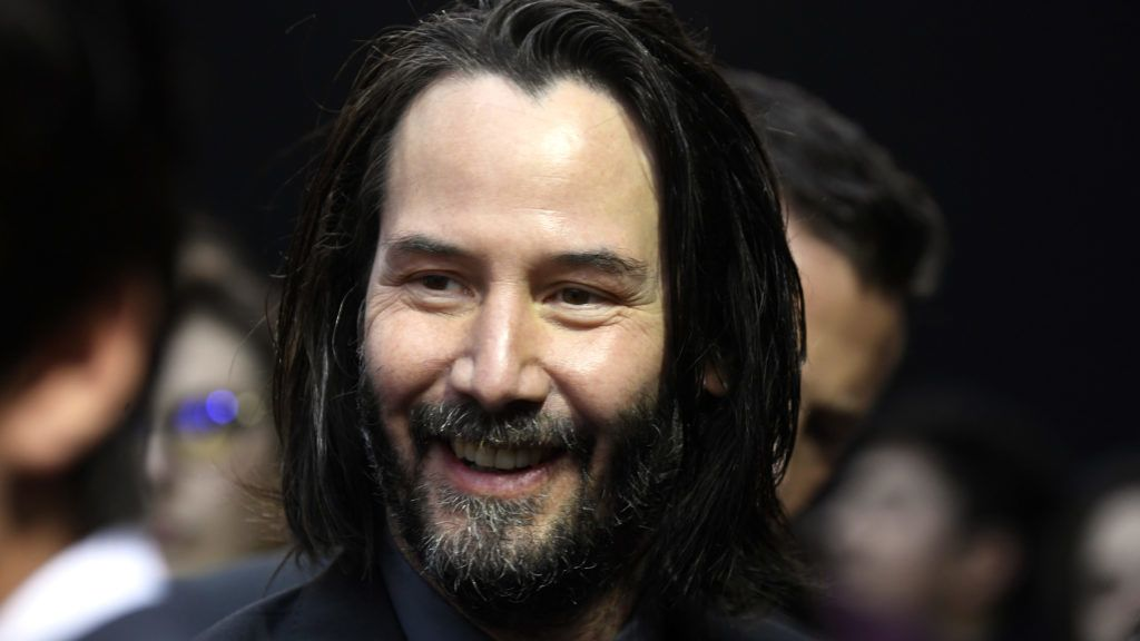 "HOLLYWOOD, CALIFORNIA - MAY 15: Keanu Reeves attends the special screening of Lionsgate's ""John Wick: Chapter 3 - Parabellum"" at TCL Chinese Theatre on May 15, 2019 in Hollywood, California. (Photo by Frazer Harrison/Getty Images)"