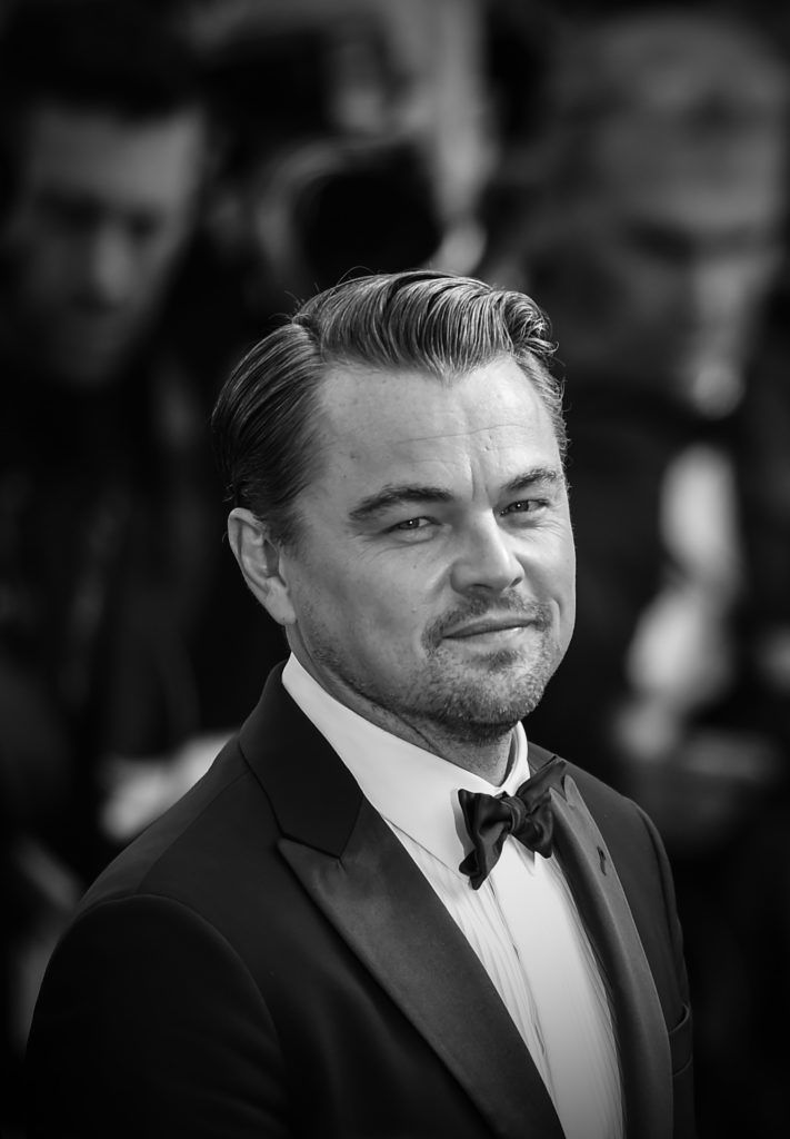 """CANNES, FRANCE - MAY 21:  (EDITORS NOTE: Image has been digitally altered)  Leonardo DiCaprio attends the screening of """"Once Upon A Time In Hollywood"""" during the 72nd annual Cannes Film Festival on May 21, 2019 in Cannes, France. (Photo by Eamonn M. McCormack/Getty Images)"""