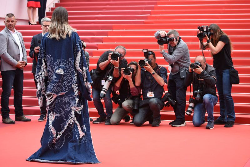 """CANNES, FRANCE - MAY 22: Marion Cotillard attends the screening of """"Matthias Et Maxime (Matthias and Maxime)"""" during the 72nd annual Cannes Film Festival on May 22, 2019 in Cannes, France. (Photo by Pascal Le Segretain/Getty Images)"""