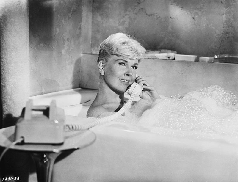 Actress Doris Day in a Scene from the Film Pillow Talk (Photo by  John Springer Collection/CORBIS/Corbis via Getty Images)