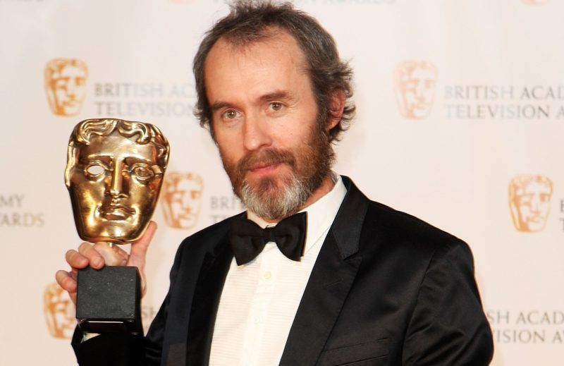LONDON - APRIL 26: Stephen Dillane poses with his Best Actor award in the press room at the BAFTA Television Awards 2009 held at The Royal Festival Hall, Southbank Centre on April 26, 2009 in London, England. (Photo by Dave Hogan/Getty Images)