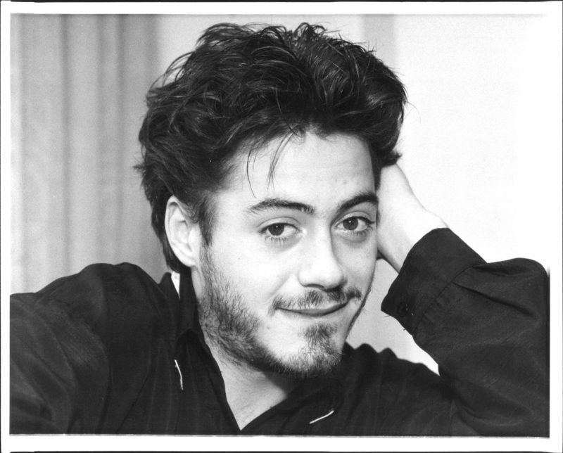 Robert Downey Jr. November 12, 1987. (Photo by Michael Schwartz/New York Post Archives /(c) NYP Holdings, Inc. via Getty Images)