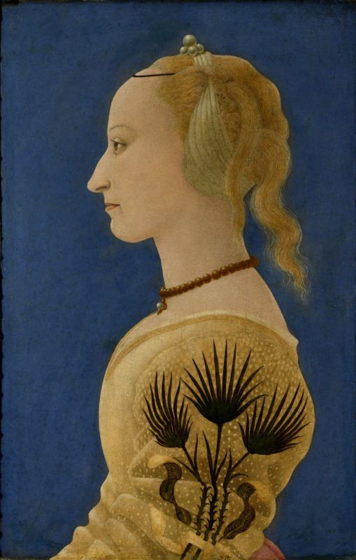 Full title: Portrait of a Lady