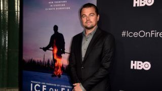 """LOS ANGELES, CALIFORNIA - JUNE 05: Leonardo DiCaprio attends the L.A. premiere of HBO's """"Ice On Fire"""" at LACMA on June 05, 2019 in Los Angeles, California.   Alberto E. Rodriguez/Getty Images/AFP"""