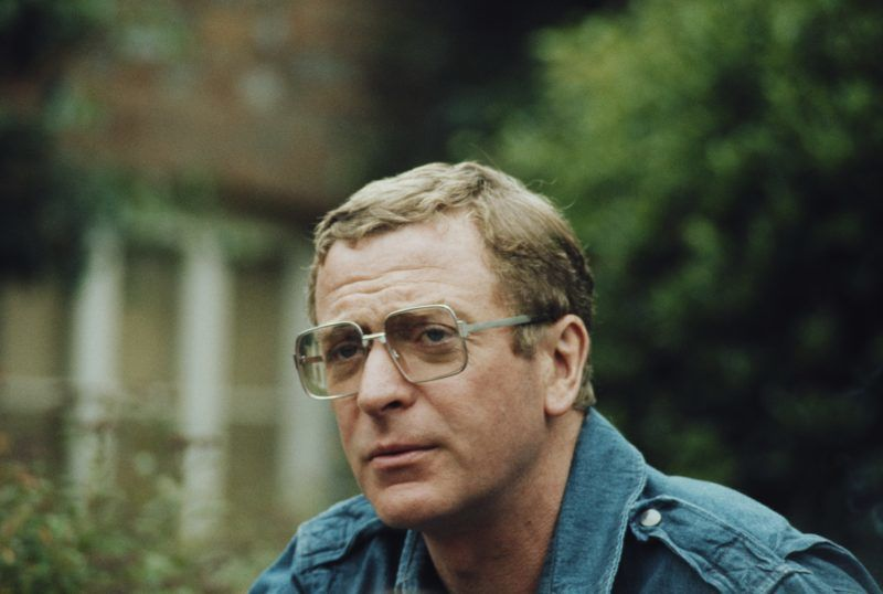 English actor Michael Caine, who stars in the film The Eagle Has Landed, pictured in 1976. (Photo by Larry Ellis Collection/Getty Images)