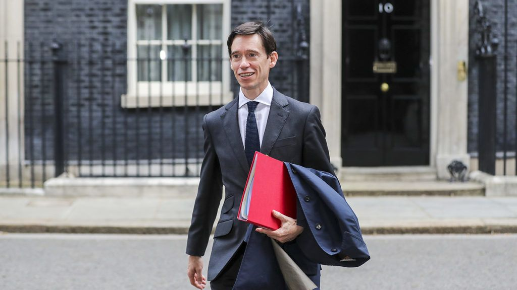 Rory Stewart, U.K. international development secretary and Conservative party leadership candidate, departs number 10 Downing Street following a weekly meeting of cabinet ministers in London, U.K., on Tuesday, June 18, 2019. Britain is in the middle of a political crisis afterTheresa Maywas forced to quit as prime minister over her failure to complete the countrys exit from the European Union.Photographer: Simon Dawson/Bloomberg via Getty Images
