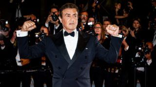 "CANNES, FRANCE - MAY 24:  (EDITORS NOTE: Image has been digitally altered)  Sylvester Stallone attends the screening of ""Rambo - Last Blood"" during the 72nd annual Cannes Film Festival on May 24, 2019 in Cannes, France. (Photo by Andreas Rentz/Getty Images)"