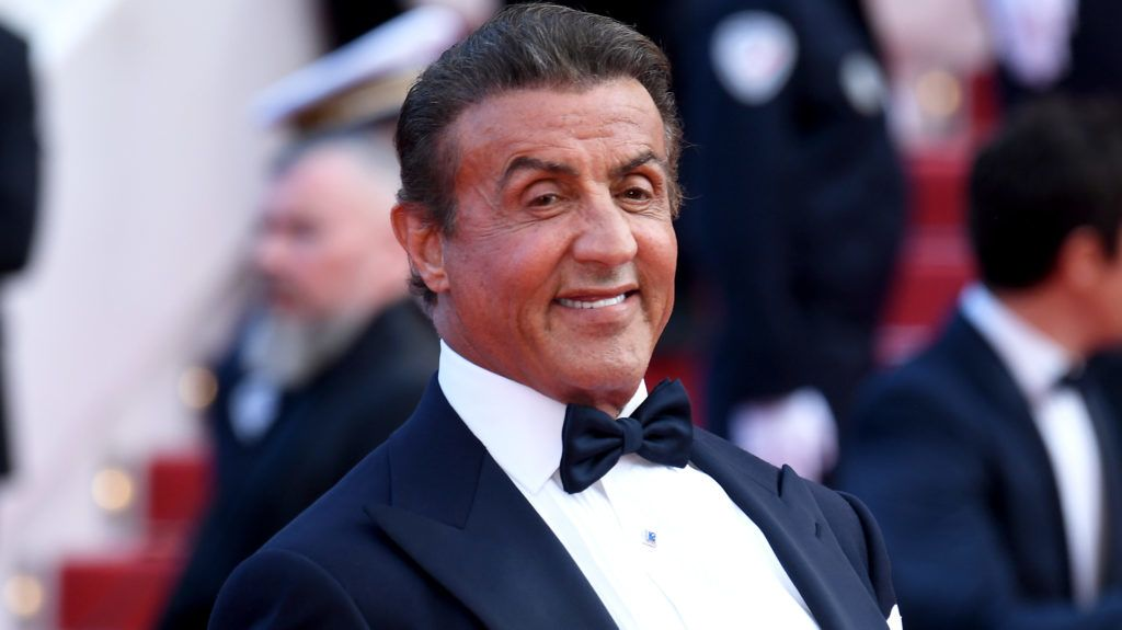"""CANNES, FRANCE - MAY 25: Sylvester Stallone attends the closing ceremony screening of """"The Specials"""" during the 72nd annual Cannes Film Festival on May 25, 2019 in Cannes, France. (Photo by Stephane Cardinale - Corbis/Corbis via Getty Images)"""