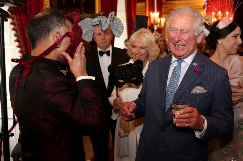 LONDON, ENGLAND - JUNE 13:  Prince Charles, Prince of Wales (R) and Camilla, Duchess of Cornwall (C) host a reception for the Elephant Family Animal Ball at Clarence House on June 13, 2019 in London, England. Elephant Family is an international NGO dedicated to protecting the Asian elephant from extinction in the wild.  (Photo by Chris Jackson - WPA Pool/Getty Images)