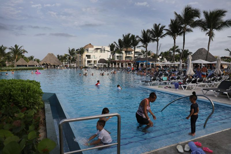 PUNTA CANA, DOMINICAN REPUBLIC - JUNE 20: The grounds of the Hard Rock Hotel & Casino are seen where a tourist died unexpectedly after getting sick two months ago on June 20, 2019 in Punta Cana, Dominican Republic. News reports and the United States State Department are saying that seven Americans have become ill and died this year and two more families are reported to have come forward saying their relatives died unexpectedly last year while staying at resorts in the Dominican Republic. The FBI is assisting the Dominican authorities in the investigation into why tourists are dying. (Photo by Joe Raedle/Getty Images)