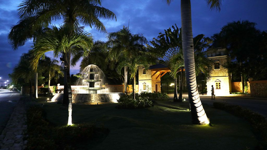 PUNTA CANA, DOMINICAN REPUBLIC - JUNE 20: The entrance to the Excellence resort is seen where according to family members a tourist died unexpectedly on June 10th after getting sick on June 20, 2019 in Punta Cana, Dominican Republic. News reports and the United States State Department are saying that seven Americans have become ill and died this year and two more families are reported to have come forward saying their relatives died unexpectedly last year while staying at resorts in the Dominican Republic. The FBI is assisting the Dominican authorities in the investigation into why tourists are dying. (Photo by Joe Raedle/Getty Images)