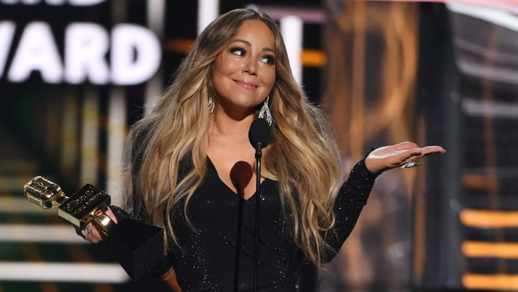 LAS VEGAS, NEVADA - MAY 01:  Mariah Carey accepts the Icon Award during the 2019 Billboard Music Awards at MGM Grand Garden Arena on May 1, 2019 in Las Vegas, Nevada.  (Photo by Ethan Miller/Getty Images)