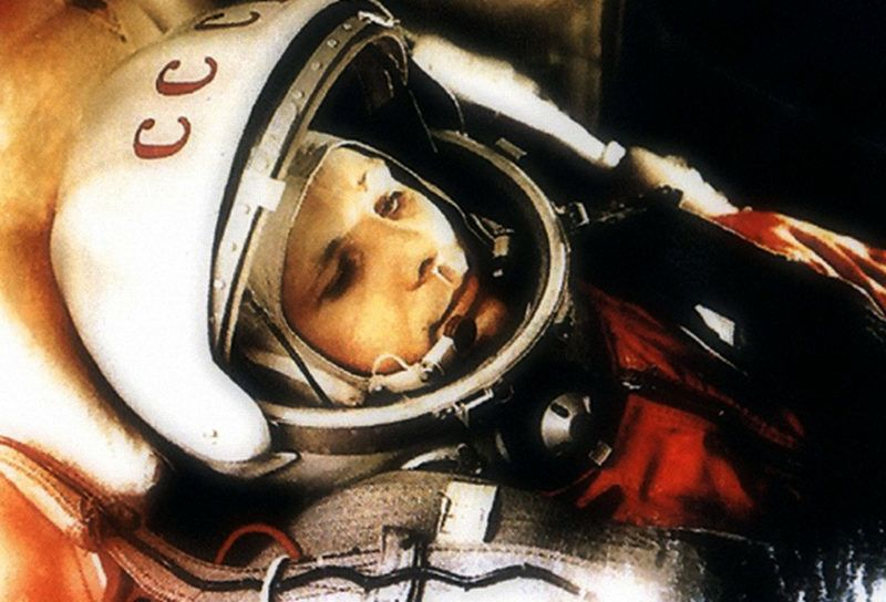 Yuri Gagarin, Russian cosmonaut, 1961. Gagarin (1934-1968) became the first man in space when he orbited the Earth aboard Vostok 1 on 12 April 1961. He was killed in a plane crash while on a routine training flight on 27 March 1968. Found in the collectio (Photo by Fine Art Images/Heritage Images/Getty Images)
