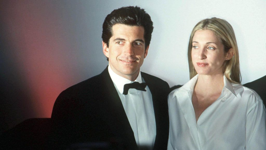 "347798 01: (NO ITALY, MAGAZINES PLEASE CALL) John F. Kennedy, Jr. and his wife Carolyn Bessette Kennedy attend the ""Brite Nite Whitney"" Fundraising Gala March 9, 1999 at the Whitney Museum of American Art in New York City. July 16, 2000 marks the one-year anniversary of the plane crash off the coast of Martha's Vineyard in Massachusetts that killed Kennedy, his wife, and her sister Lauren Bessette. (Photo by Arnaldo Magnani/Liaison)"
