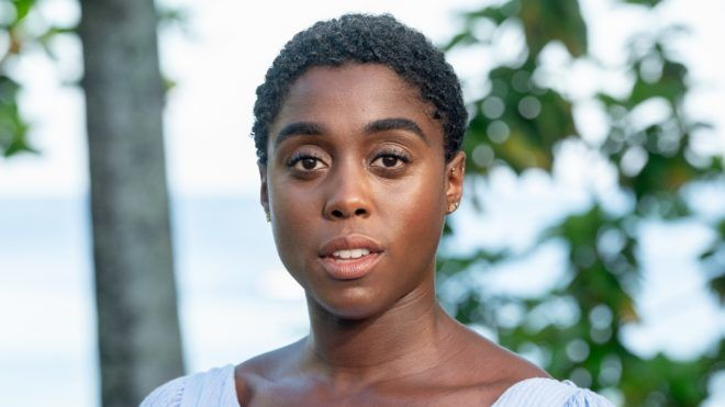"""MONTEGO BAY, JAMAICA - APRIL 25: Actress Lashana Lynch attends the """"Bond 25"""" Film Launch at Ian Fleming's Home """"GoldenEye"""", on April 25, 2019 in Montego Bay, Jamaica.   Roy Rochlin/Getty Images for Metro Goldwyn Mayer Pictures/AFP"""