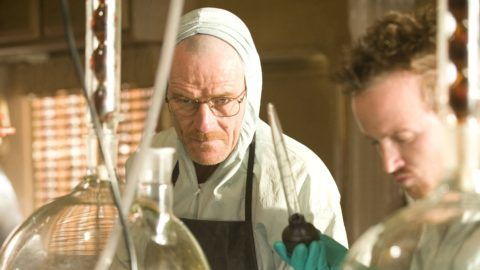 Breaking Bad TV Series 2008 - ???? USA 2009  Season 2, episode 9 : 4 Days Out Created by : Vince Gilligan Director : Michelle MacLaren Bryan Cranston, Aaron Paul