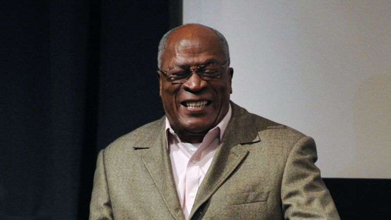 NEW YORK, NY - OCTOBER 05: John Amos attends the Althea screening and panel discussion at One Time Warner Center on October 5, 2015 in New York City.   Craig Barritt/Getty Images for Time Warner Inc./AFP