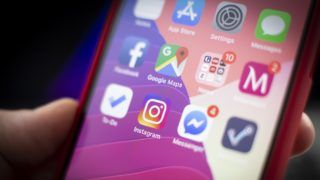 The Instagram application is seen on an iPhone in this photo illustration on January 29, 2019. (Photo by Jaap Arriens/NurPhoto)