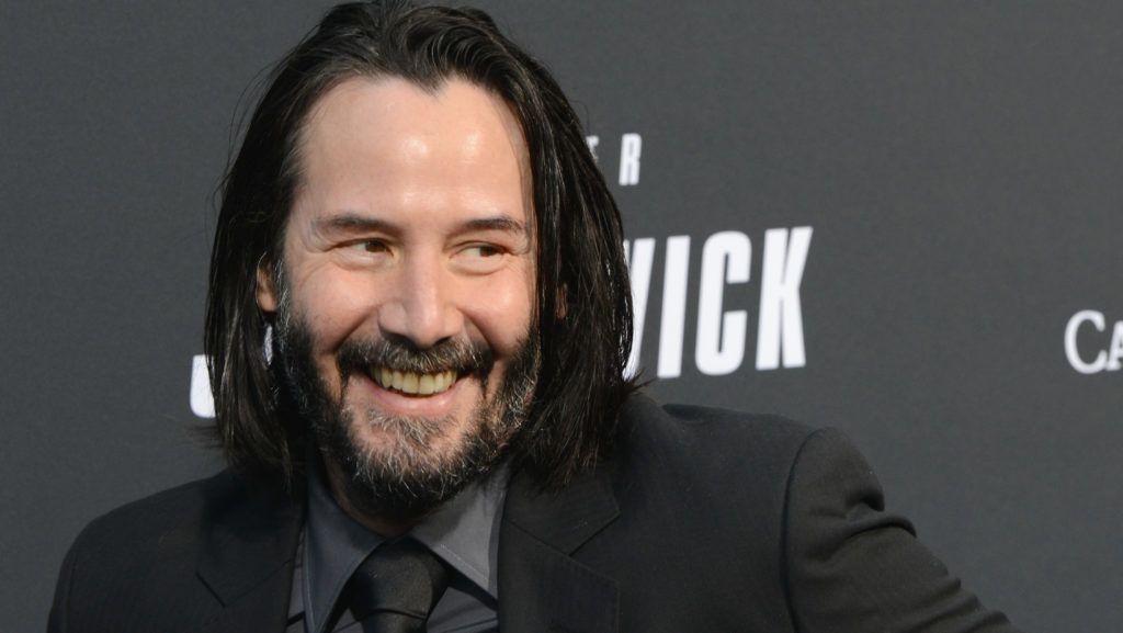 """HOLLYWOOD, CA - MAY 15:  Keanu Reeves arrives for the Special Screening Of Lionsgate's """"John Wick: Chapter 3 - Parabellum"""" held at TCL Chinese Theatre on May 15, 2019 in Hollywood, California.  (Photo by Albert L. Ortega/Getty Images)"""
