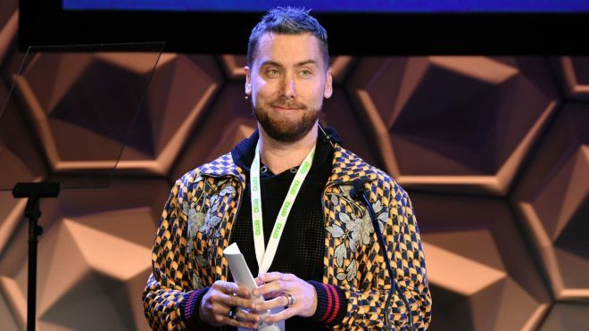 BEVERLY HILLS, CALIFORNIA - MAY 29: Lance Bass speaks onstage at the EMA IMPACT Summit Day One at Montage Beverly Hills on May 29, 2019 in Beverly Hills, California. (Photo by Michael Kovac/Getty Images for The Environmental Media Association)