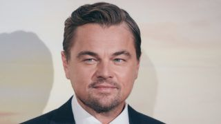 """US actor Leonardo DiCaprio poses during a photocall ahead of the italian Premiere of Tarantino's latest movie """"Once Upon A Time In Hollywood"""" in downtown Rome on August 2, 2019 (Photo by Luca Carlino/NurPhoto via Getty Images)"""