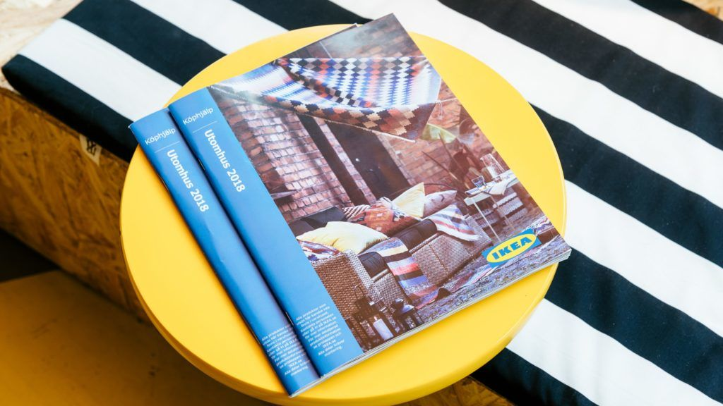 Catalogs sit for customers to browse at the Ikea of Sweden AB pop-up store that specializes in kitchens in the city center of Stockholm, Sweden, on Wednesday, May 2, 2018. The company is in the midst of a transformation where its placing more stores in city centers to better reach customers. Photographer: Mikael Sjoberg/Bloomberg via Getty Images