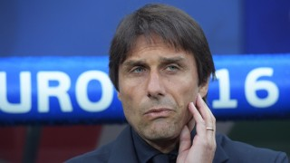 2871281 06/13/2016 The Italian team's head coach Antonio Conte before the UEFA Euro 2016 group stage match between the Belgian and Italian national teams. Grigoriy Sisoev/Sputnik