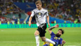 during the 2018 FIFA World Cup Russia group F match between Germany and Sweden at Fisht Stadium on June 23, 2018 in Sochi, Russia.