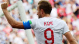 England's forward Harry Kane celebrates after scoring a penalty during the Russia 2018 World Cup Group G football match between England and Panama at the Nizhny Novgorod Stadium in Nizhny Novgorod on June 24, 2018. / AFP PHOTO / Martin BERNETTI / RESTRICTED TO EDITORIAL USE - NO MOBILE PUSH ALERTS/DOWNLOADS