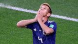 Soccer Football - World Cup - Group H - Japan vs Senegal - Ekaterinburg Arena, Yekaterinburg, Russia - June 24, 2018    Japan's Keisuke Honda celebrates scoring their second goal    REUTERS/Marcos Brindicci