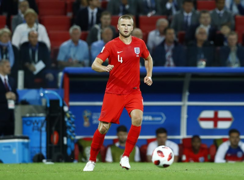 Eric Dier (England) during the round of 16 match between Colombia  and England at the FIFA World Cup 2018 at Spartak Stadium  in Moscow, Russia, Tuesday, July 3, 2018. (Photo by Matteo Ciambelli/NurPhoto)