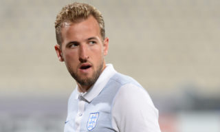 England's forward Harry Kane walks around the National Stadium in Malta's Ta' Qali village, on the eve of the 2018 FIFA World Cup qualifying football match Malta vs England, on August 31, 2017. / AFP PHOTO / Matthew Mirabelli / Malta OUT
