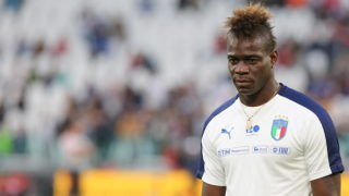 Mario Balotelli (Italy) before the friendly football match between Italy and Holland at Allianz Stadium on June 04, 2018 in Turin, Italy. Final result: 1-1 (Photo by Massimiliano Ferraro/NurPhoto via Getty Images)