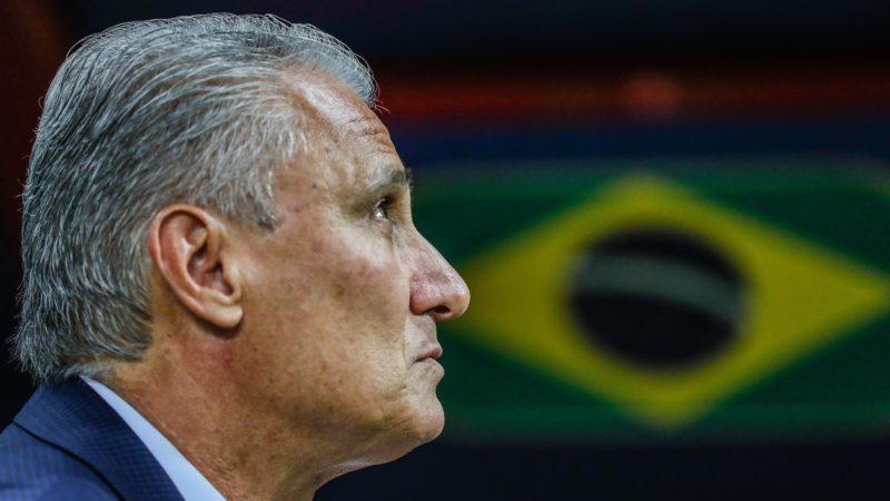 Tite couch of Brazil during a match against Belgium in the quarterfinals of the World Cup in Russia 2018 at the Kazan Arena in Russia on Friday, 06. (Photo: William Volcov / Brazil Photo Press)