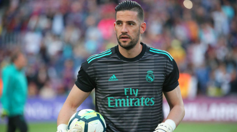 Kiko Casilla during the match between FC Barcelona and Real Madrid CF, played at the Camp Nou Stadium on 06th May 2018 in Barcelona, Spain.  Photo: Joan Valls/Urbanandsport /NurPhoto -- (Photo by Urbanandsport/NurPhoto via Getty Images)