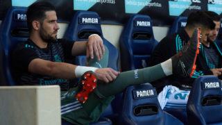 VILLARREAL, SPAIN - MAY 19:  Kiko Casilla of Real Madrid sits on the substitutes bench during the La Liga match between Villarreal and Real Madrid at Estadio de La Ceramica on May 19, 2018 in Villarreal, Spain.  (Photo by Manuel Queimadelos Alonso/Getty Images)