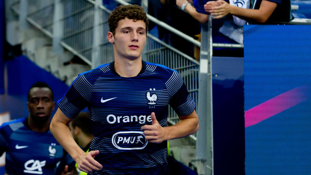 PARIS, FRANCE - SEPTEMBER 09: Benjamin Pavard of France looks on during the UEFA Nations League A group one match between France and Netherlands at Stade de France on September 9, 2018 in Paris, France. (Photo by TF-Images/Getty Images)