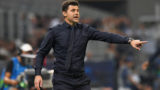 MILAN, ITALY - SEPTEMBER 18:  Mauricio Pochettino head coach of Tottenham Hotspur gestures during the Group B match of the UEFA Champions League between FC Internazionale and Tottenham Hotspur at San Siro Stadium on September 18, 2018 in Milan, Italy.  (Photo by Alessandro Sabattini/Getty Images)