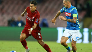SSC Napoli v FC Liverpool - UEFA Champions League Group C