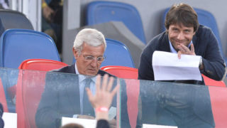 Marcello Lippi, Antonio Conte during the Tim Cup Final football match F.C. Juventus vs A.C. Milan at the Olympic Stadium in Rome, on May 21, 2016. (Photo by Silvia Lore/NurPhoto)