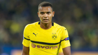 DORTMUND, GERMANY - OCTOBER 03: Manuel Akanji of Borussia Dortmund looks on during the Group A match of the UEFA Champions League between Borussia Dortmund and AS Monaco at Signal Iduna Park on October 3, 2018 in Dortmund, Germany. (Photo by TF-Images/TF-Images via Getty Images)
