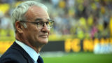 Nantes' Italian head coach Claudio Ranieri looks on during the French L1 football match Nantes versus Rennes on April 20, 2018 at the La Beaujoire stadium in Nantes, western France. (Photo by DAMIEN MEYER / AFP)
