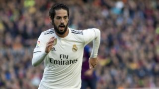 Isco during the spanish league match between FC Barcelona and Real Madrid at Camp Nou Stadium in Barcelona, Catalonia, Spain on October 28, 2018 (Photo by Miquel Llop/NurPhoto)