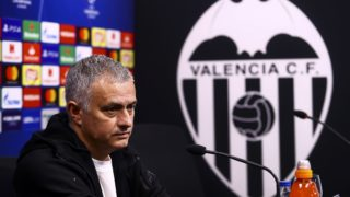 Head coach of Manchester United Jose Mourinho on Press conference before Champions League match between Valencia CF v Manchester United at Mestalla stadium, on December 11, 2018. (Photo by Jose Miguel Fernandez/NurPhoto) (Photo by Jose Miguel Fernandez/NurPhoto)