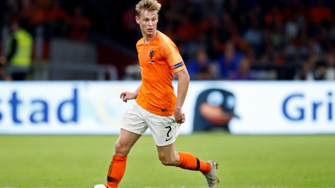 Netherlands player Frenkie de Jong during the UEFA Nations League, League A, Group 1 football match between Netherlands and Germany on October 13, 2018 at Johan Cruijff ArenA in Amsterdam, Netherlands - Photo Stanley Gontha / Pro Shots / DPPI