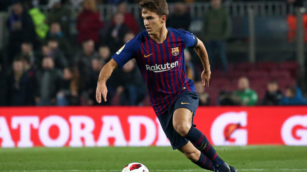 Denis Suarez during the match between FC Barcelona and Cultural Leonesa, corresponding to the 1/16 final of the spanish King Cuo, played at the Camp Nou Stadium on 05th December 2018 in Barcelona, Spain. Photo: Joan Valls/Urbanandsport /NurPhoto  -- (Photo by Urbanandsport/NurPhoto)