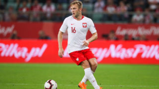 WROCLAW, POLAND - SEPTEMBER 11: Jakub Blaszczykowski of Poland in action during the international friendly match between Poland and Republic of Ireland at the Stadion Miejski on September 11, 2018 in Wroclaw, Poland. (Photo by Matthew Ashton - AMA/Getty Images)